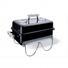 Weber Tabletop Go Anywhere Charcoal Barbecue, Black