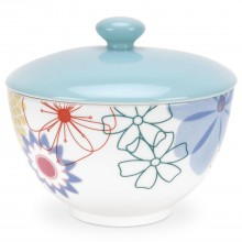 Portmeirion Crazy Daisy Covered Sugar Bowl