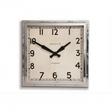 Newgate Quad Clock, Chrome
