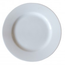 Casa White Breakfast Plate