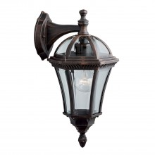 Capri Porch Light, Rustic Brown