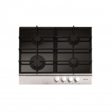 Caple Gas Hob C739G, Black Glass