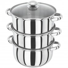 Horwood 22cm 3 Tier Steamer Stainless Steel