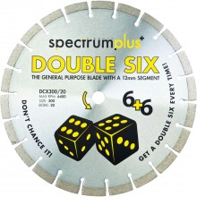Spectrum Plus Double Six Diamond Blade
