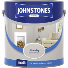 Johnstones 2.5l Matt Emulsion, China Clay