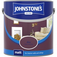 Johnstones 2.5l Matt Emulsion, Diva