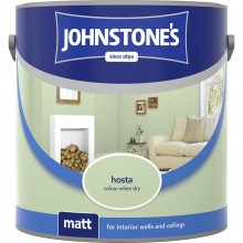 Johnstones 2.5l Matt Emulsion, Hosta