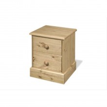 Carleton 2 Drawer Bedside Table