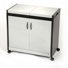 Hostess HL6232SV Connoisseur Trolley, Silver