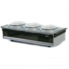 Hostess Buffet Servers Silver