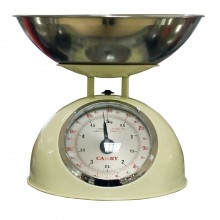 Camry Cream Mechanical Kitchen Scale