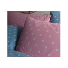 Cath Kidston Pink Spot King Size Duvet Cover, Pink