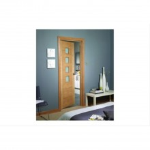 Xl Joinery Internal Oak Palermo Glazed Door