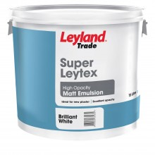 Leyland 15l Superlleytex High Opacity Matt Brillaint White Emulsion