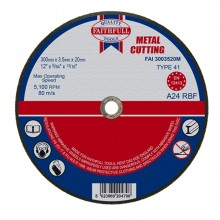 Faithfull Cut Off Wheel 300x3.5x20mm