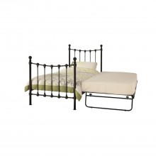 Casa Marseilles Single Guest Bed, Black