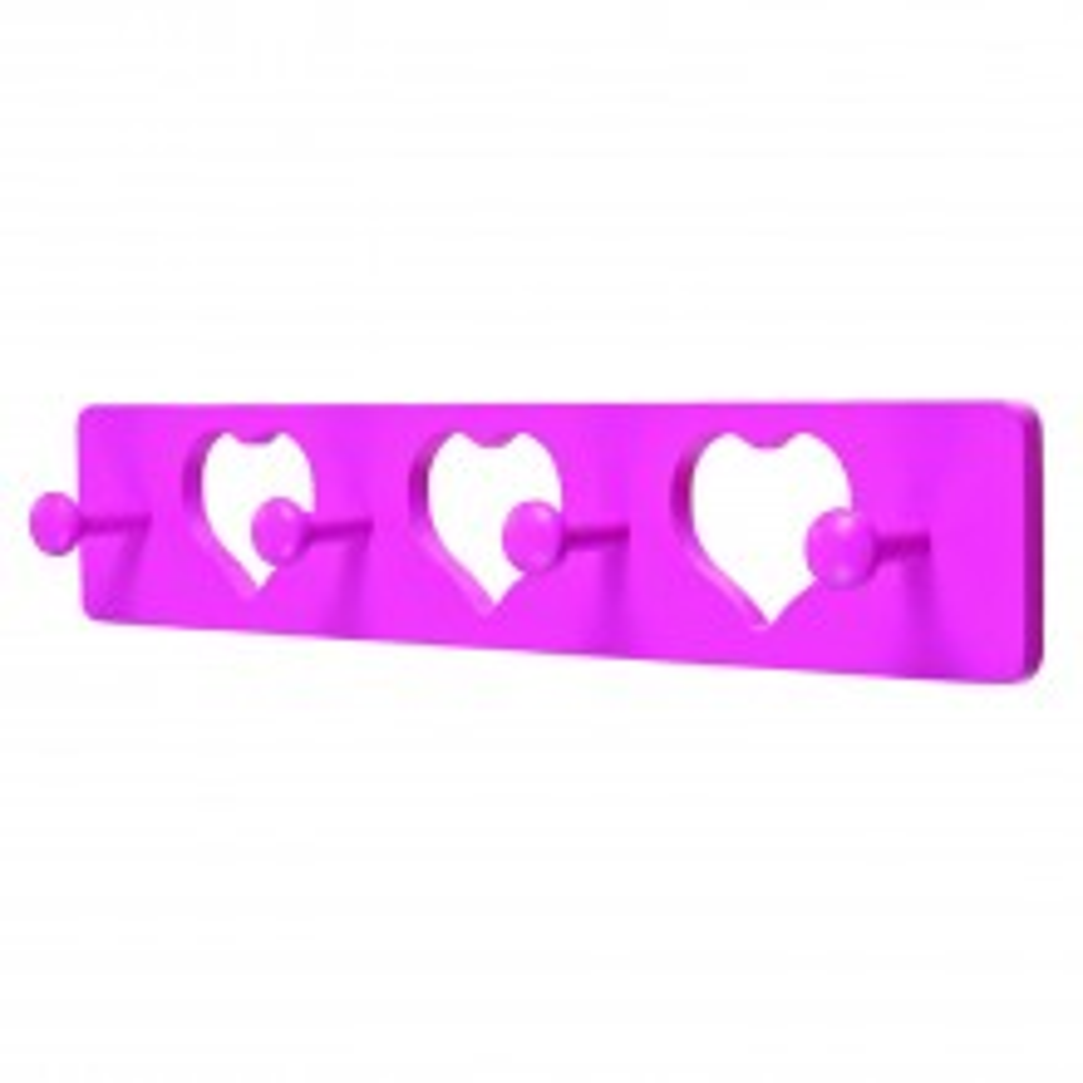 Headbourne 4 Hook Heart Hanger