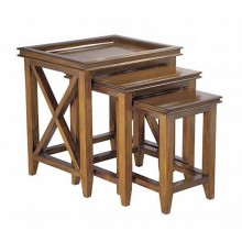 Casa Mahogany Oxford Nest Of Tables