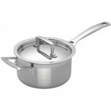 Le Creuset 3-Ply Stainless Steel Saucepan, 16cm