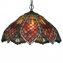 "Orsini 16"" Tiffany Pendant Light Shade"