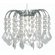Small Waterfall Ceiling Shade, Chrome