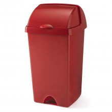 Addis 48l Roll Top Bin Red