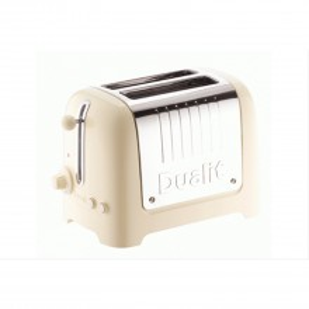Dualit 26202 2 Slot Lite Toaster, Cream Gloss