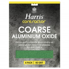 Harris Coarse Oxide Sheets Pack 4