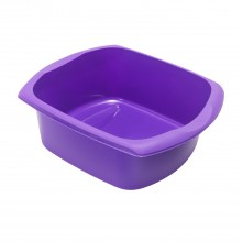 Addis 9.5l Rectangular Bowl, Purple