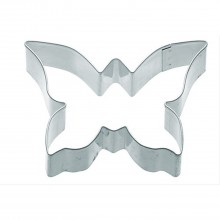 KitchenCraft 7.5cm Butterfly Shaped Metal Cookie Cutter