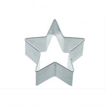 KitchenCraft 6.5cm Star Shaped Metal Cookie Cutter