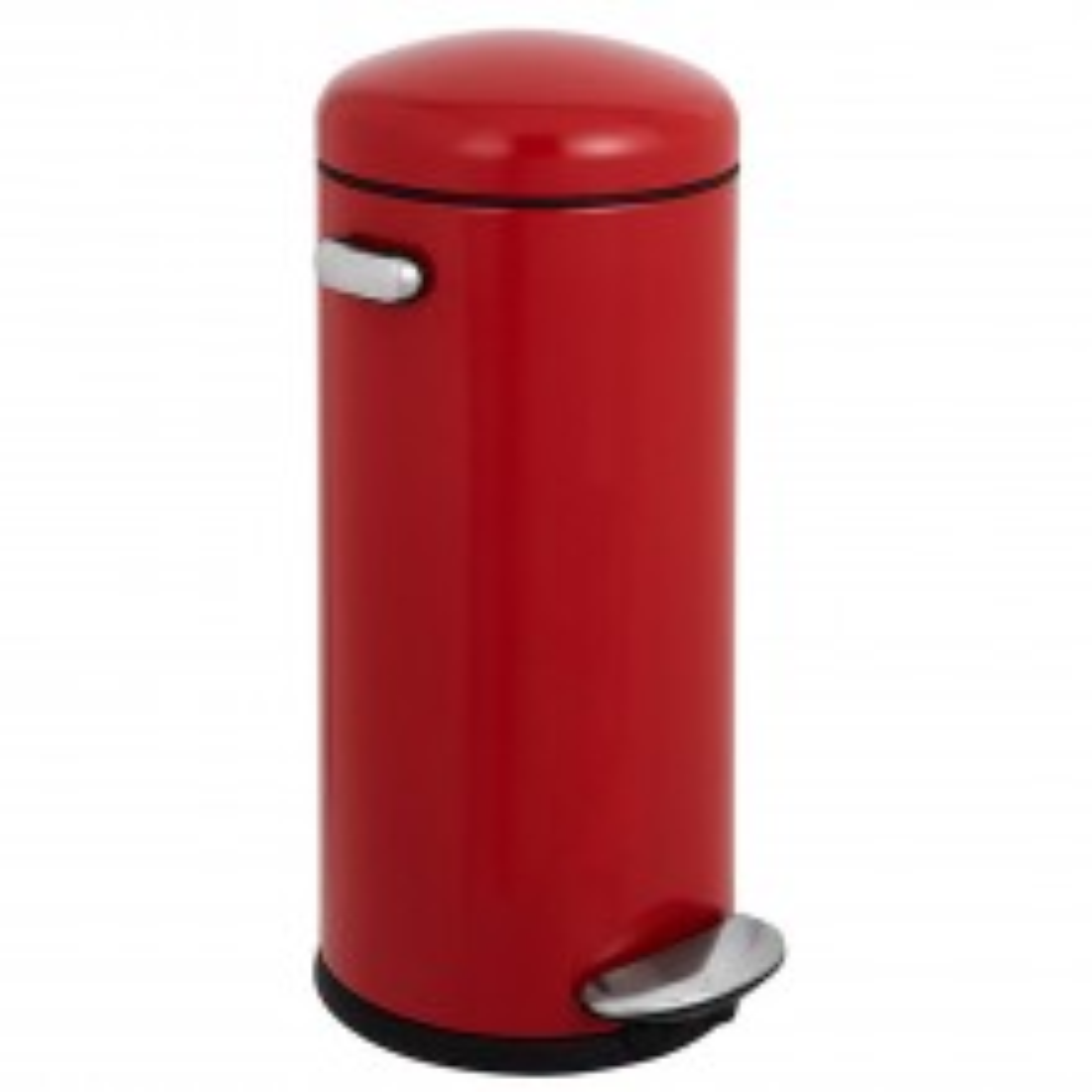 Simplehuman 30 Litre Retro Bin Red