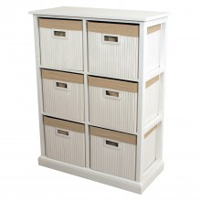 Casa Bamboo Unit 6 Drawer
