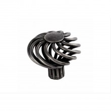 Carlisle 44mm Mushroom Steel Cage Traditional Cabinet Knob