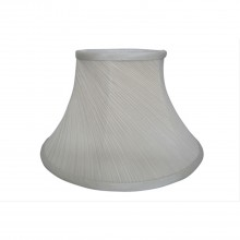 "14"" Twisted Pleat Shade, Cream"