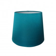 "8"" Silk Shade, Teal"