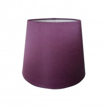 "8"" Silk Shade, Plum"