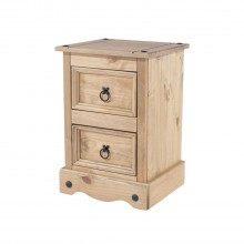 Connor 2 Drawer Petite Bedside Table