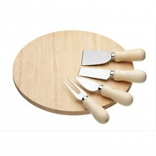 KitchenCraft Wooden Cheese Serving Set