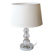 Bath Table Lamp, White