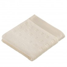 Vossen Country Style Face Towel, Ivory