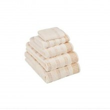 Vossen Country Style Bath Towel, Ivory
