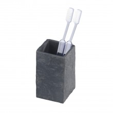 Slate Rock Toothbrush Cup