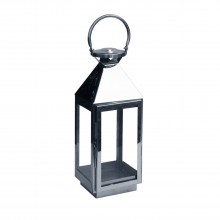 La Hacienda Small Palma Stainless Steel Lantern
