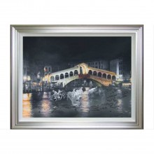 Complete Colour Rialto Bridge Liquid Art