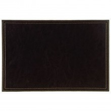 Brown Leather Look Placemats