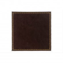 Brown Leather Look Coasters