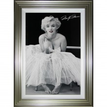 Complete Colour Marilyn Monroe Ballerina Liquid Art