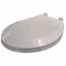 Casa Bevel White Slow Close Toilet Seat
