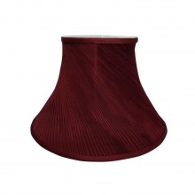 """8"""" Twisted Pleat Shade, Cranberry"""
